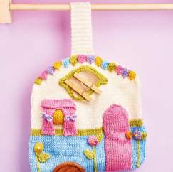 Caravan Peg Bag Knitting Pattern