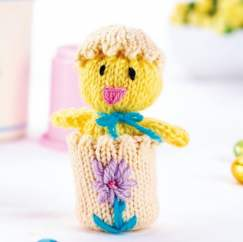 Quick Easter Chick Knitting Pattern