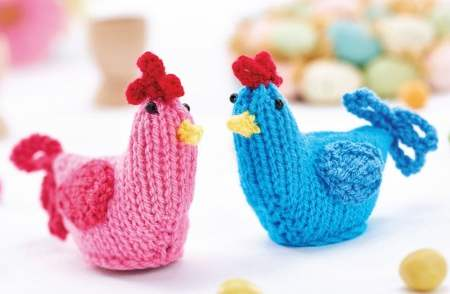Chicken Chocolate Egg Cosies Knitting Pattern