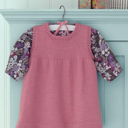 Child's Tunic Dress Knitting Pattern