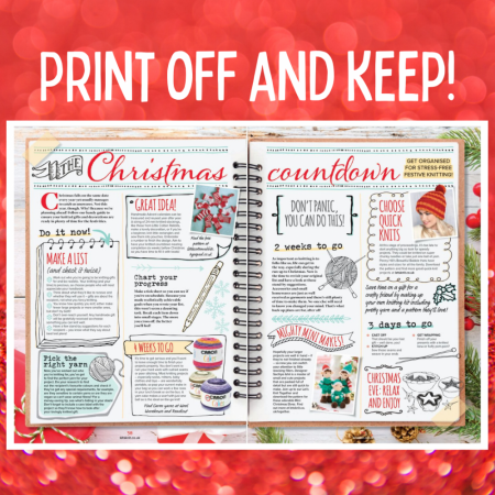 Cast On For Christmas: Countdown Knitting Pattern