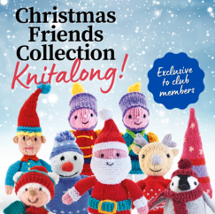 COMING 9TH SEPTEMBER! Christmas Friends Collection Knitalong