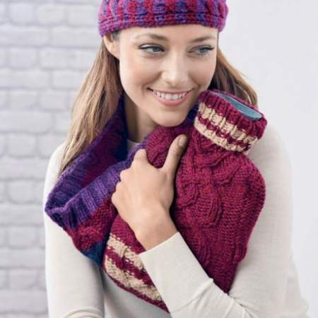 Easy Cosy Accessories Knitting Pattern