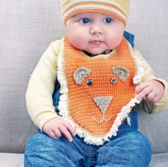 Baby Crochet Set Knitting Pattern