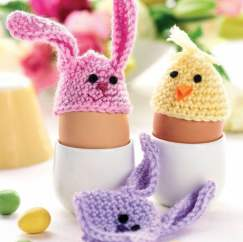 Quick & easy Easter egg cosies Knitting Pattern