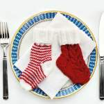 Christmas Cutlery Holders Knitting Pattern