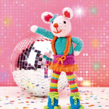 Disco Mouse Knitting Pattern
