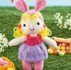 Easter Doll Knitting Pattern