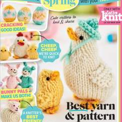Easter Friends Collection Knitting Pattern