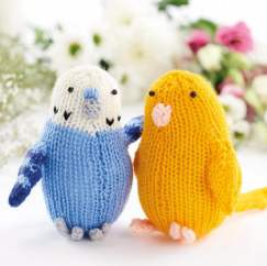 Easy Knitted Budgies Knitting Pattern