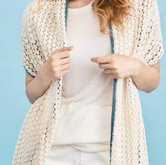 Easy Summer Wrap Knitting Pattern