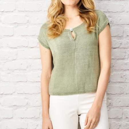 Easy T-shirt Knitting Pattern