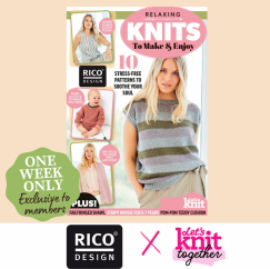 NEW! Rico Design Pattern Book Knitting Pattern