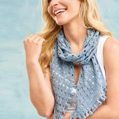 Eyelet Scarf Knitting Pattern