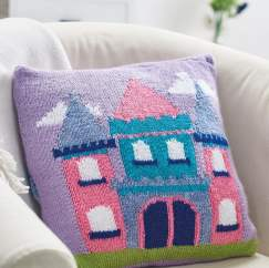 Fairytale Castle Cushion