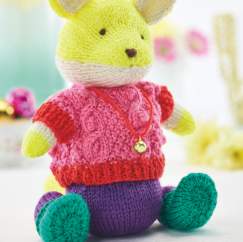 Festive Fox Knitting Pattern