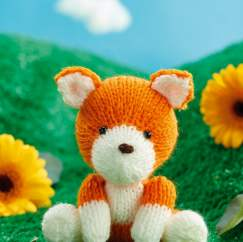 Fox Toy Knitting Pattern