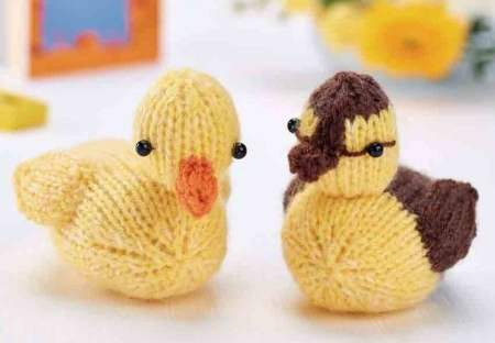 Ducklings Knitting Pattern
