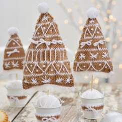 Quick Knit Trees Knitting Pattern