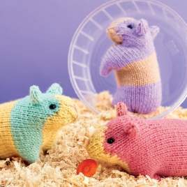 How to: attach safety eyes Knitting Pattern