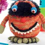 Halloween Monster Toy Knitting Pattern