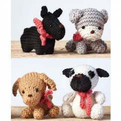 Hugo & Friends Knitting Pattern