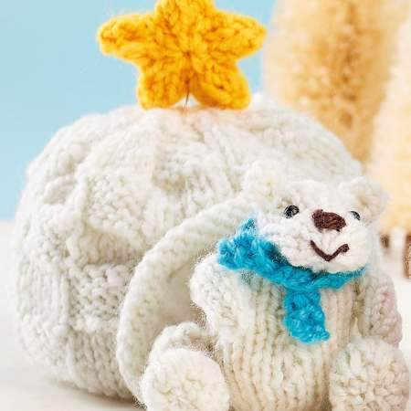 Bonus Igloo and Star Knitting Pattern