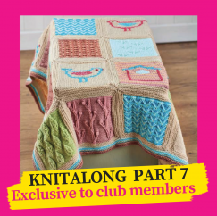 Little Birdie Blanket Knitalong Part 7 Knitting Pattern