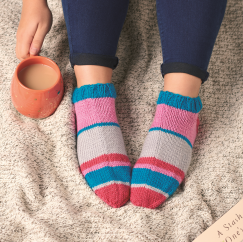 Ankle Socks Knitting Pattern