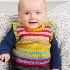 Baby Tank Top Knitting Pattern