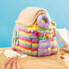 Beach Hut Knitting Pattern