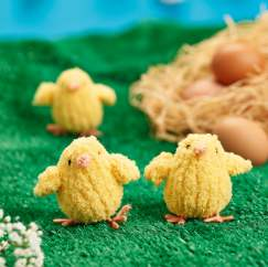 Fluffy Chicks Knitting Pattern