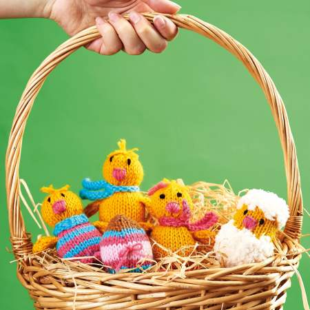 Easter Chicks Knitting Pattern