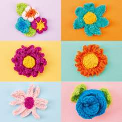 Flower Collection Knitting Pattern