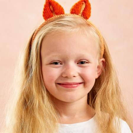 Bear & Fox Headbands Knitting Pattern