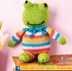 Frog Toy Knitting Pattern