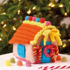 Gingerbread House Knitting Pattern