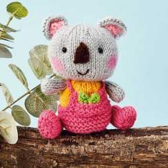 Koala Toy Knitting Pattern