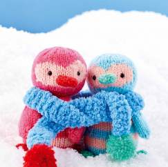 Penguin Pals Knitting Pattern