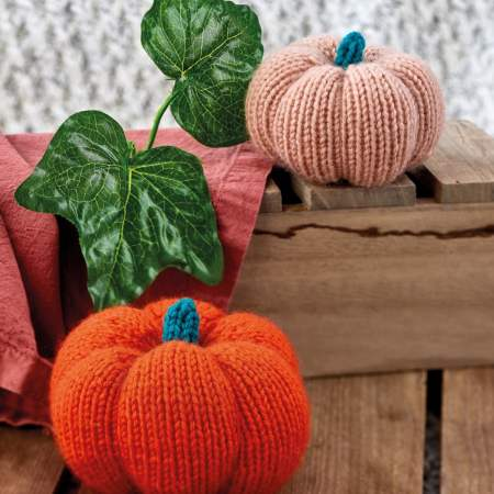 Pumpkins | Knitting Patterns | Let's Knit Magazine