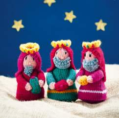 Three Kings Knitting Pattern