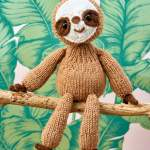 Sloth Toy Knitting Pattern