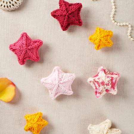 Scattering of Stars Knitting Pattern