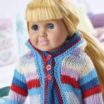 Doll hoody Knitting Pattern