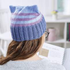 Quirky cat hat Knitting Pattern