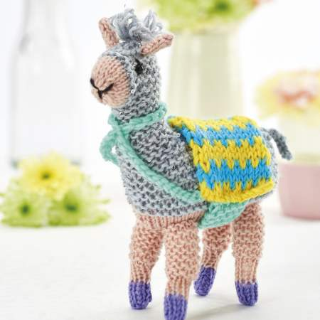 Fizz the llama Knitting Pattern