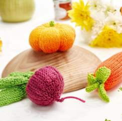 Play veggies Knitting Pattern