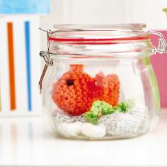 Goldfish bowl Knitting Pattern