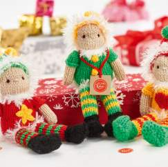 Christmas elves Knitting Pattern