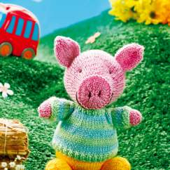 George The Pig Knitting Pattern